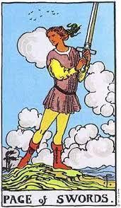 Tarot: Page i svärd